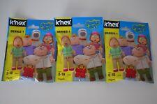 (3 Pack) K'nex Family Guy Series 1 Blind Bags NEW