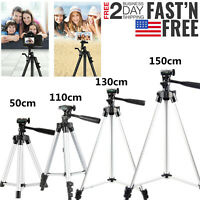 Aluminum Alloy Camera Tripod Stand Holder for Canon Nikon Phone iPhone DSLR H4V0