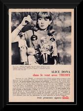 RARE PUBLICITE ADVERTISING  BELLA  Tressy  Vintage 60's