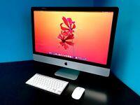 """Apple iMac 27"""" / 5K RETINA 3.9GHZ CORE / 3TB SSD / 32GB RAM / WARRANTY"""