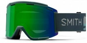 Smith Squad MTB Goggles XL AC Rocky Mountain Chromopop Green Mirror Lens