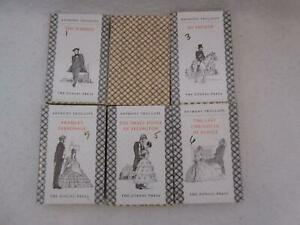 Lot of 6 Anthony Trollope Chronicles of Barsetshire The Zodiac Press, London