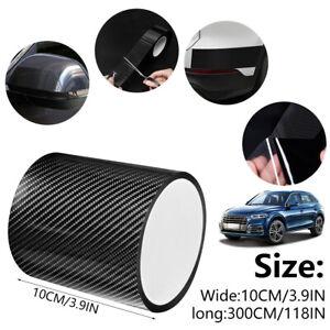 5cm*3m Carbon Fiber Car Stickers Door Scuff Anti Scratch  Film Tape Protection🌟