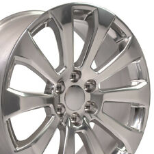 "22"" Polished Wheel fits Chevrolet Silverado 1500 High Country 22x9"