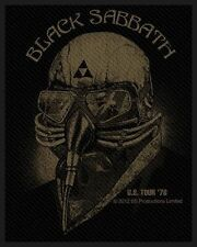 BLACK Sabbath-Patch ricamate-US Tour 78 8x10cm