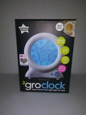 NEW Tommee Tippee Groclock Sleep Trainer and Night Light for Kids