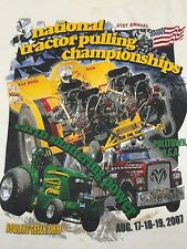 National Tractor Pulling Championships Small T-Shirt Super Modified Dragster