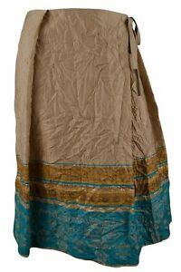 David Meister Women's Tie Waist Faux-Wrap Skirt 4