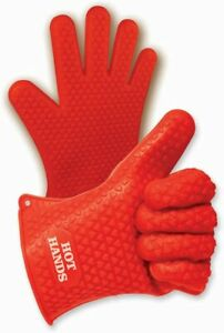 JML Hot Hands Silicone Gloves Handle Hot Items Safely One Size Fits All