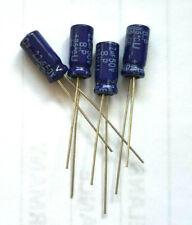 2.2uf 50v 85c Non Polarised Bipolar Capacitor Size 11x5mm x4pcs.