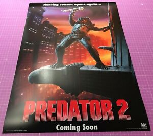 PREDATOR 2 (1990) • A4 to A2 POSTER • FREE DELIVERY