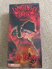 Living Dead Doll, Freddy Krueger, Nightmare Elm Street, New (Read Description)
