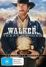 Walker, Texas Ranger: Season 4 DVD NEW