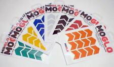 Reflective MINI CHEVRON stickers * 7 colours available including BLACK!