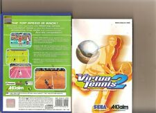 VIRTUA TENNIS 2 PLAYSTATION 2 PS2 PS 2 HENMAN WILLIAMS
