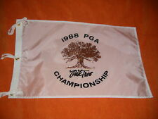 1988 PGA CHAMPIONSHIP Pin Flag - OAK TREE GOLF CLUB - Jeff Sluman