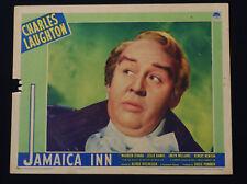 JAMAICA INN 1939 * ALFRED HITCHCOCK * CLOSEUP LOBBY CARD * EXTREMELY RARE!!