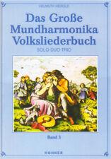 Das Mundharmonika Volksliederbuch 3 Songbook Noten