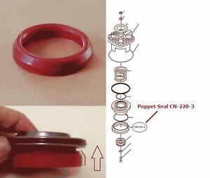 O-Ring Depot NEW Replacement For Duo-Fast Part CN-220-3 Poppet Seal CN-350 CN325