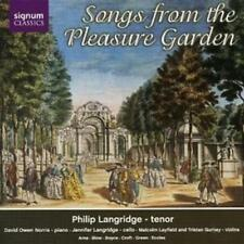 Various Composers : Songs from the Pleasure Garden (Langridge, Owen-norris) CD