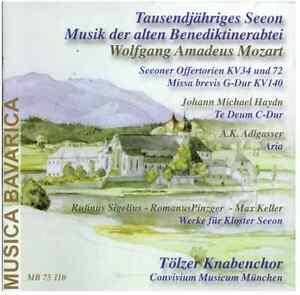 Tausendjähriges Seeon, alte Benediktinerabtei im Chiemgau, u.a.Tölzer Knabenchor