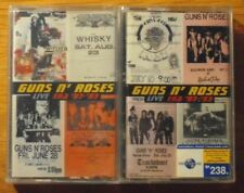 Guns N' Roses Live Era '87-93 Thai 2 Cassettes Seal OOP FREE  SHIPPING WORLDWIDE