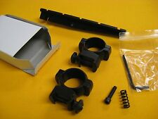 HORTON CROSSBOW SCOPE MOUNT SS120 7/8 WEAVER RAIL RINGS w/ FREE Instal Fasteners