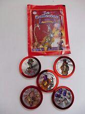 """Lot 5 Jetons Collector Madagascar """"Les Hors Série"""" Collection Cora Match  !"""