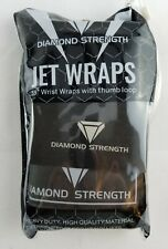 """Wrist Wraps 18"""" with Thumb Loops - for Men Women -Weight Lifting, Powerlifting"""