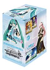 Weiss Schwarz Hatsune Miku Project Diva F 2nd Booster Box English