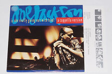 """JOE JACKSON -Is She Really Going Out...- 7"""" 45 mit Product Facts Promo-Flyer"""