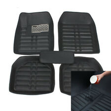 5pcs Set Car Floor Mats for All Weather Rubber Heavy Duty Semi Custom Universale