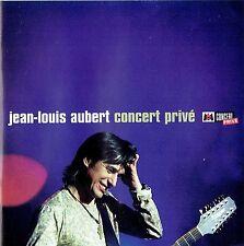 CD - JEAN LOUIS AUBERT - Concert Privé