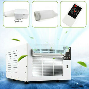 1/2 Set Air Conditioner Cooler Window Refrigerated Cooling 1100W Fit 1-5m² 220V