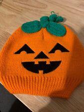 Halloween - So Dorable Pumpkin Knit Hat, 0-6 Months. FREE SHIPPING