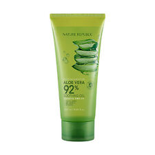 Nature Republic Aloe Vera 92% Soothing Gel Moisture 250ml  1pc Korea Cosmetic