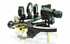 """Reproduction Tamaya Brass Nautical Fully Working 9"""" Navigation Antique sextant"""