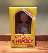 "Mezco Toyz Child's Play Good Guys Chucky 15"" Talking Doll Figure"