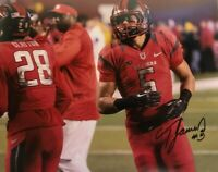 RUTGERS FOOTBALL RONNIE JAMES #5 SIGNED AUTOGRAPHED PHOTO KEEP CHOPPING BIG TEN
