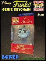 FUNKO Disney Aladdin Genie - POP KEYRING  - Brand New Boxed 5cm (One Supplied)