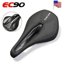 EC90 Saddle MTB Bike EVO Artificial Leather Gel Leather Breathable Soft Cushion