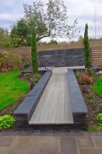 Black Slate copings stone Sample 20mm thick