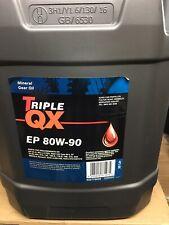 Triple QX EP 80W90 20L MTF Manual Transmission Fluid Gear Oil 20 Litre Mineral