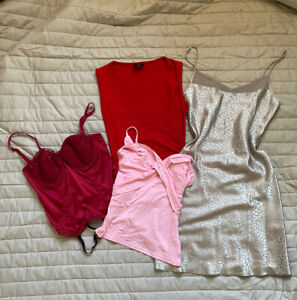 womens clothing bundle joblot y2k 00s tops vintage corset cami summer