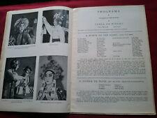 VINTAGE 1957 CHINESE NATIONAL THEATRE PORTUGAL PORTUGUESE SOUVENIR BROCHURE