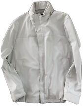$1,895 LORO PIANA Regatta white sailing Storm System zip coat jacket M
