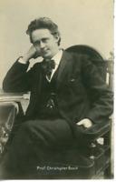 Professeur Christopher Boeck Vintage carte photo Christopher Nyholm Boeck ( 18