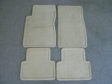 Cadillac CTS tan carpet floor mats 03-07
