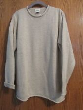 Neiman Marcus heathered beige 100% cashmere tunic sweater - Medium - NEW!!