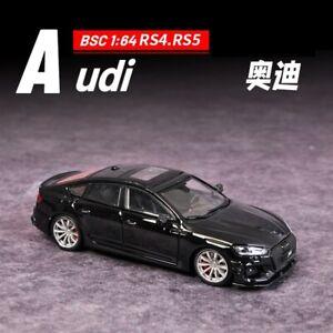 BSC 1:64 ABT RS4 Avant/RS5 SportBack Black Model Car